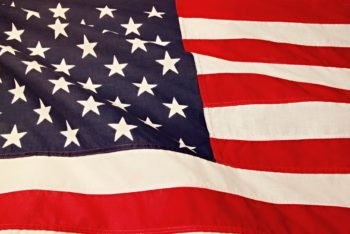 American Flag Decorative Image