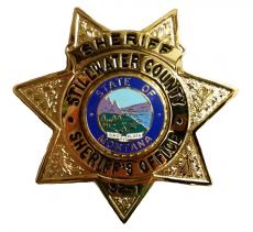 Sheriff Badge Decorative Image