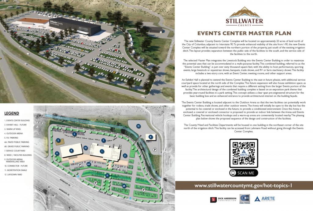 Stillwater County Events Center Master Plan